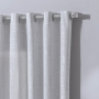 Cortina Rústica Cartago 4,20x2,50m Concreto Alumínio Cor 1022 - Bella Janela