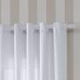 Cortina Rústica Pantex 3,00x1,70m Branco - Bella Janela
