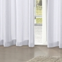 Cortina Rústica Pantex 4,20x2,50m Branco - Bella Janela