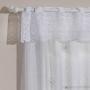 Cortina Valência Branca 2,00x1,20+0,20 Vaquinhas - Interlar
