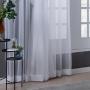 Cortina Voil com Forro 4,00x2,60m Branco - Beca Decor
