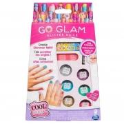 Acessórios de Maquiagem Go Glam Nail Glitter - Sunny