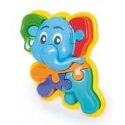 Animal Puzzle 3d Elefante - Calesita