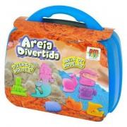 Areia Divertida Maleta Fundo do Mar - DM Toys