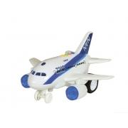 Avião com som e luz 1:160 - Shinny Toys