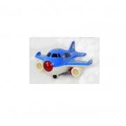 Avião De Brinquedo Infantil - Com Luzes E Som Realista