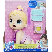 Baby Alive - Hora da Papinha Lil Snacks Loira - Hasbro  F2617