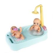 Banheira para Boneca Bebê Surpresa - Estrela