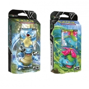 Baralho Pokémon Batalha V Blastoise ou Venusaur - Copag