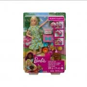 Barbie Sisters & Pets Aniversário Cachorrinho - Mattel GXV75