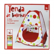 Barraquinha Infantil de bolinhas Camping - BBR 3052