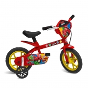 Bicicleta Aro 12 Ricky Zoom Vermelha - Bandeirante