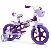 Bicicleta Infantil Aro 12 Puppy - Nathor