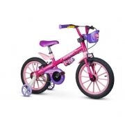Bicicleta Infantil Aro 16 Top Girls 5 - Nathor
