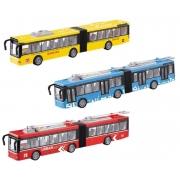 Big Ônibus de Fricção com Som e Luz - Dm Toys