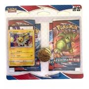 Blister Quádruplo Carta Pokémon Espada e Escudo V - Copag