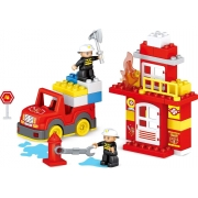 Blocos de montar BlokBlok Bombeiro - Zoop Toys