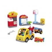 Blok Blok - Oficina e Posto de Gasolina - Zoop Toys
