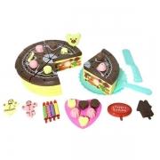Bolo De Aniversário De Chocolate - Multikids Br649