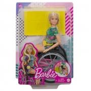 Boneca Barbie Cadeira de Rodas Fashionista - Mattel