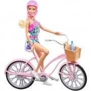 Boneca Barbie com Bicicleta Vintage - Mattel