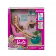 Boneca Barbie Salão De Manicure E Pedicure - Mattel