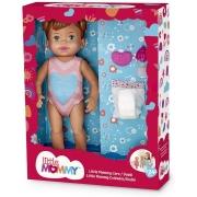 Boneca Little Mommy Cuidados c/ Acessórios Morena - Mattel
