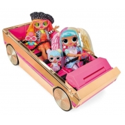 Boneca LOL Surprise 3 em 1 Party Cruiser - Candide8985