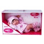 Boneca Reborn Anny Doll Baby - Cotiplás