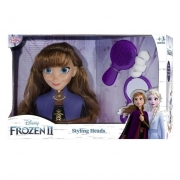 Boneca Styling Head Busto Anna Frozen 2