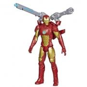 Boneco Articulado Homem de Ferro Lançador Marvel Vingadores - Hasbro