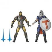 Boneco Avengers Game Verse Homem de Ferro e Treinador F0123 - Hasbro