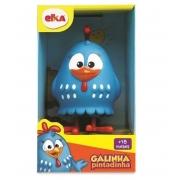 Boneco Galinha Pintadinha Azul 15cm - Elka