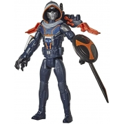 Boneco Marvel Black Widow Titan Hero Taskmaster Treinador 30cm - Hasbro 9671