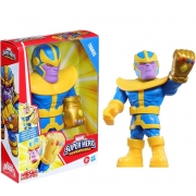 Boneco Marvel Super Hero Adventures Thanos - Hasbro