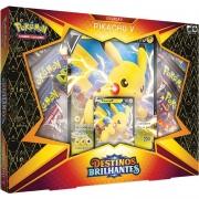 Box Pokémon Destinos Brilhantes Coleção Pikachu V - Copag