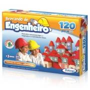Brincando de Engenheiro 120 pçs - Xalingo