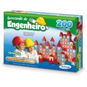 BRINCANDO DE ENGENHEIRO 200 PÇS