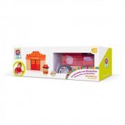 Brinquedo Construindo com Bloquinhos Bombeiros - Estrela