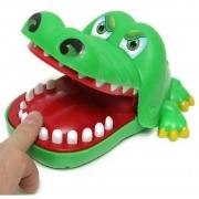 Brinquedo Crocodilo Dentista Cuidado com o Dente - Polibrinq