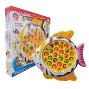 Brinquedo Infantil Jogo de Pescaria Motorizado - Polibrinq