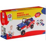 Brinquedo Monta e Desmonta Jipe - Estrela