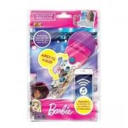 Brinquedo Musical Microfone Barbie Rockstar - Fun