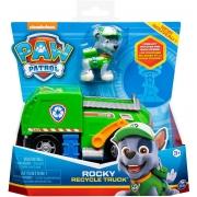 Brinquedo Patrulha Canina Veículos de Resgate Rocky - Sunny 2722
