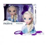 Busto Boneca Elsa Frozen Styling Head - Baby Brink