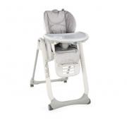Cadeira De Alimentação Polly2start - Happy Silver - Chicco