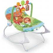 Cadeira de Bebê Balanço Musical Vibratória Esquilinho - Baby Style