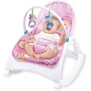 Cadeira De Descanso Bebê Alimentação Baby Style Little- Rosa