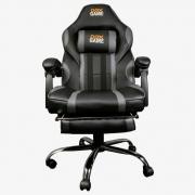 Cadeira Gamer GC300 Preta/Cinza - Oex