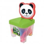 Cadeirinha Kidverte de Panda com Bloquinhos de Montar - Bigstar